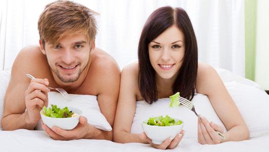 Satisfacer a una mujer cambiando tus hábitos alimenticios